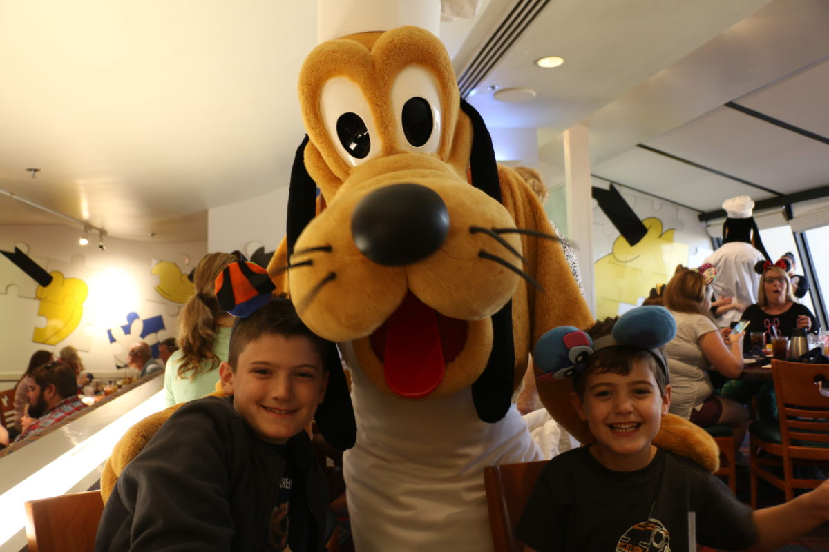 Aidan, Jennings, and Pluto make the best of friends