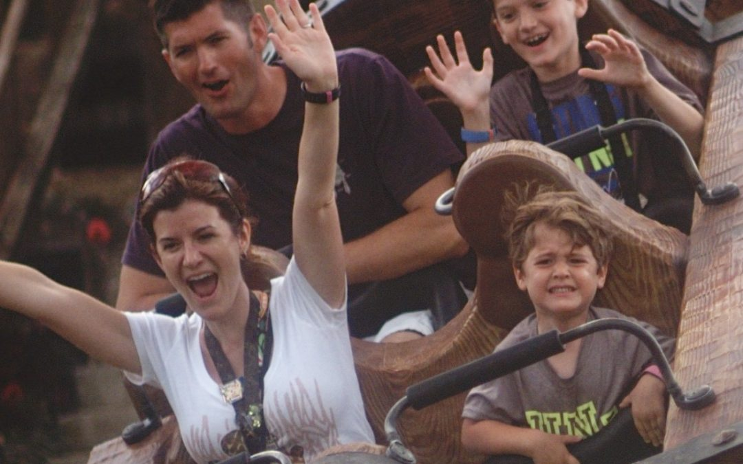 When to Push Kids to Ride Disney Thrill Rides