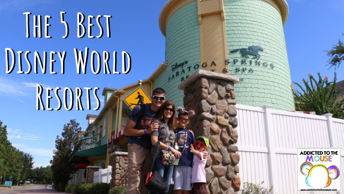 The 5 Best Walt Disney World Resorts